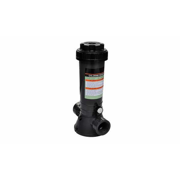 vidaXL Automatic Chlorine Feeder for Swimming Pool - Black