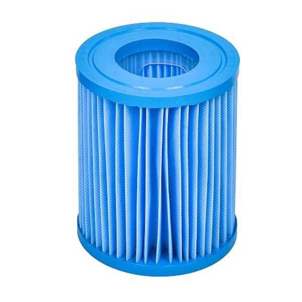 5.5' Inorganic Antimicrobial Swimming Pool Replacement Filter Core Cartridge - Blue
