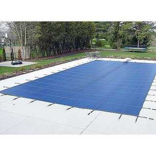 WATERWARDEN 'Made to Last' 32 x 62 ft. Pool Safety Cover for 30 x 60 ft. Pools