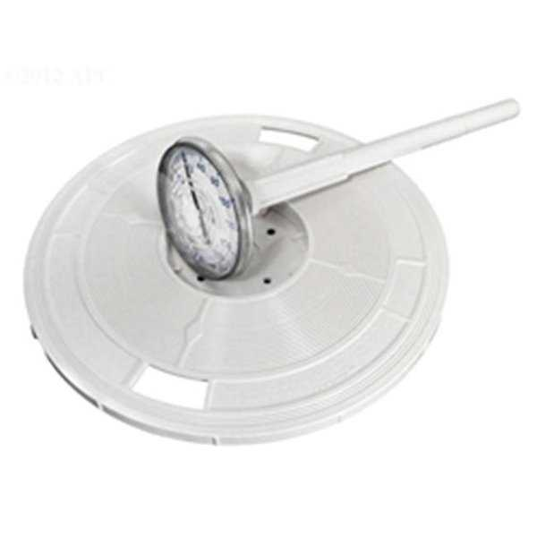 Pentair Water Pool & Spa LL4W 9.19 in. Round White Skimmer Lid